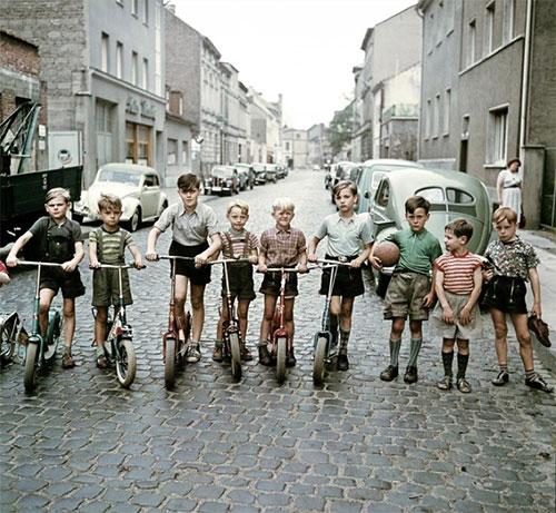 Avoir 10 ans en 1950