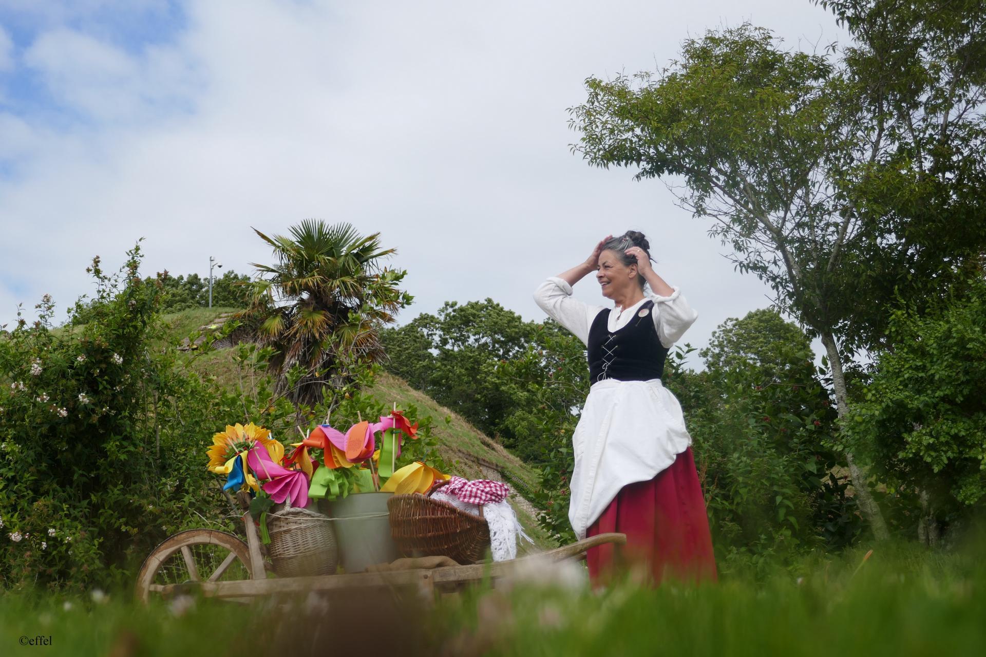 La jardinière poète